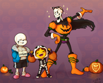 Spooky Scary Skeletons by C-Puff