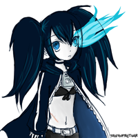 Black Rock Shooter by blackcat-girl