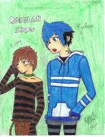 Regular Show Humans by x-X-xMonkehx-X-x