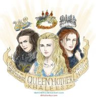 Reigning Queens by sketchditto