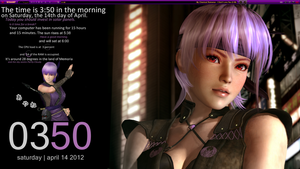 Dead or Alive 5: Ayane by seraphimax
