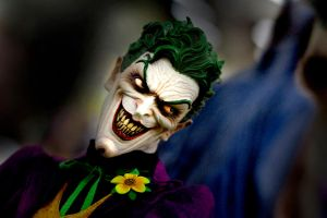 Joker with a Wicked Stare by eastphoto99