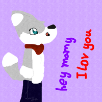 AT I lov you mamy by Babedoge