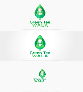 Green Tea Logo (For Sale) by DianaGyms