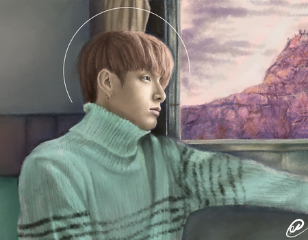 Jungkook [YNWA Contest Entry] by Alfie-R