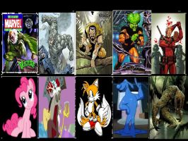 Top Ten Characters That Have Grown On Me by hydranoid2009