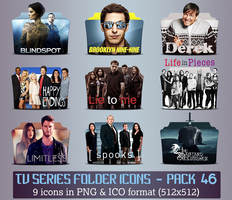 TV Series - Icon Pack 46 by apollojr