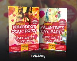 Valentine Party Template by imagingdc