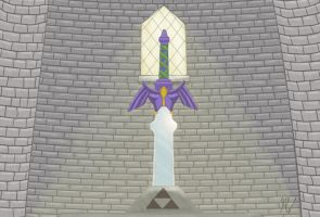 Master Sword by Onilink1993