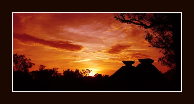 Sunset at Melvin Jones by armedconflict