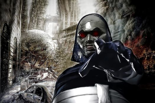 Come to the Darkseid by animephoenix