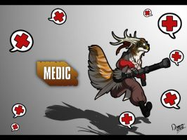 TENEL IS MEDIC by Dragara