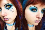 CL - Starry Night by itashleys-makeup