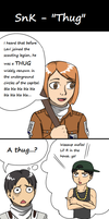 SnK - Thug by iKushina