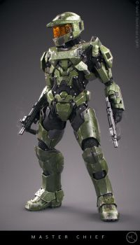 Master Chief by SgtHK