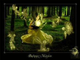 . Magic Forest . by aninels