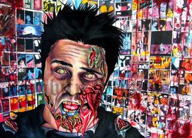 Ray William Johnson Zombie portrait by ZombifyStudios
