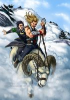 Snow rodeo by Alassa