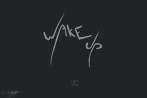 AWAKE Title screen by sonicbommer