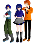 My OCs that are in MMD by robot-star693