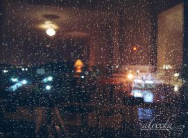 Stormy night... by Alexxka