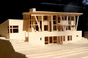 Model Wood House by ducttapedwelling