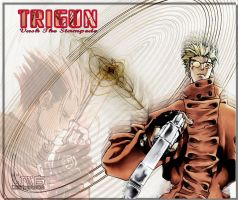 TRIGUN: Vash The Stampede by LostMrBoB