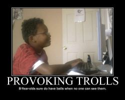 Troll Provoktion -demotivation by Dragunov-EX