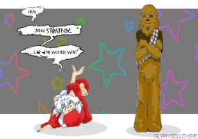 Let the Wookie win by GlyphBellchime