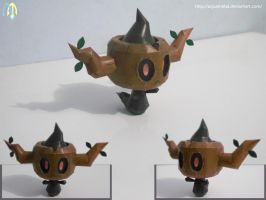 Phantump Papercraft by aquametal