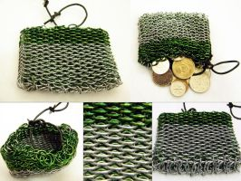 Dragonscale Pouch by ChainedBeauty