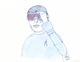 McCoy Goggles Sketch by AdamTSC