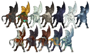 Dendrary Battlewher Babies by Nessbeast