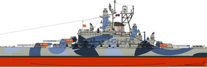 Oceanic Navy Island Class Battleship by Lapeer