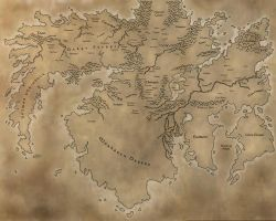 Ardas continent on Fortuna by Archaia