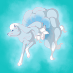 Day 12: Alolan Ninetails by Marvel-ousNerd