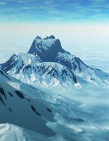 Snowy mountains by krigl