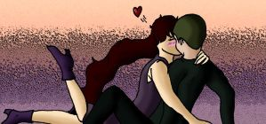 LC and JE - Another cute moment 2 by I-Major-In-Magick