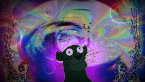 Trippy Panther Wallpaper by Eminoir