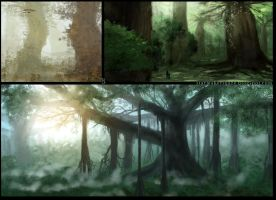 Genius Loci - The Great forest by Ranarh