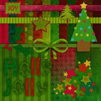 holly jolly kit by paperstreetdesigns