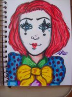 Happy Clown by pencil-to-papaer