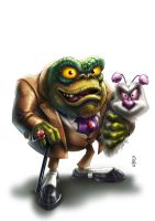 Baron Greenback by DazTibbles