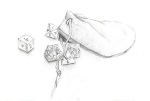 DnD Dice by Metalarc09