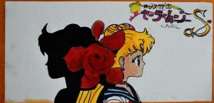 Sailor Moon on Canvas by Maarel