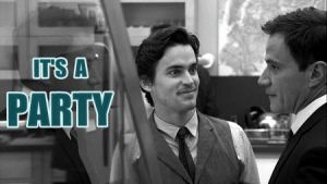 Neal Caffrey It's a Party Animation by GesineMarie