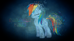 Rainbow Dash wallpaper (I tried. . .xc) by MLP-Mayhem