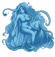 OoME: Val Water Elemental by lacuna-purify