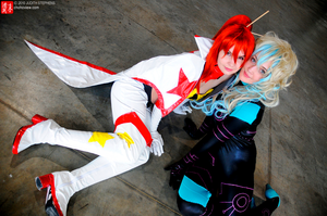 TTGL - Sky Blue Days by cafe-lalonde