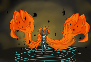 Hyrule Warriors, Midna by Chaotic-Brony